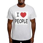 I heart people Light T-Shirt
