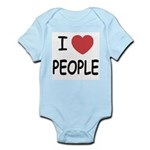 I heart people Infant Bodysuit
