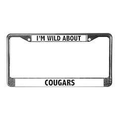 Cougar License Plate Frame
