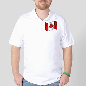 Banff Canadian Flag Golf Shirt