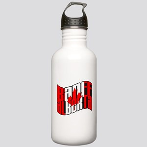 Banff Canadian Flag Stainless Water Bottle 1.0L