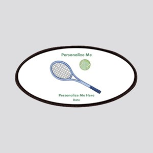 Personalized Tennis Patches