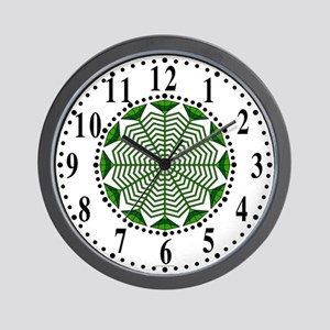 Eclectic Flower 369 Wall Clock
