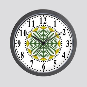 Eclectic Flower 371 Wall Clock