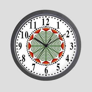 Eclectic Flower 375 Wall Clock