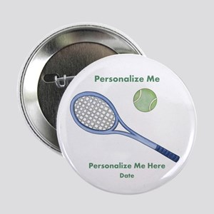 """Personalized Tennis 2.25"""" Button"""