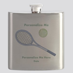 Personalized Tennis Flask