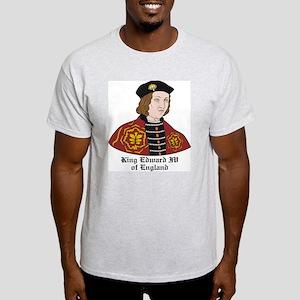 King Edward IV of England Ash Grey T-Shirt