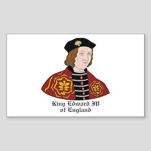 King Edward IV of England Rectangle Sticker