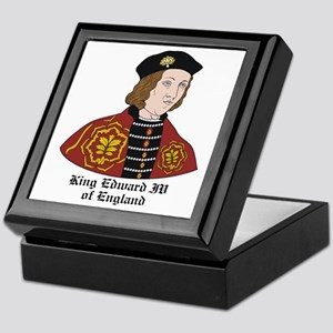King Edward IV of England Keepsake Box