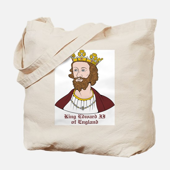 King Edward II Tote Bag