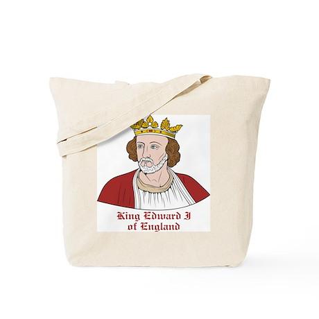 King Edward I of England Tote Bag