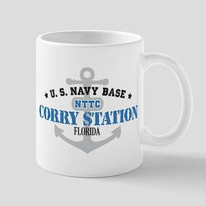 US Navy Corry Station Base Mug