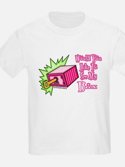 Like To See My Box Kids T-Shirt