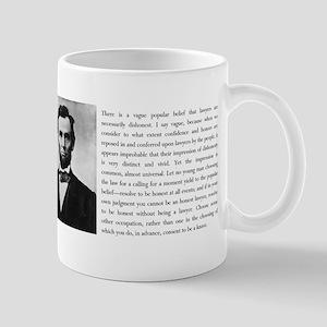 Lincoln Resolve to be Honest Mug