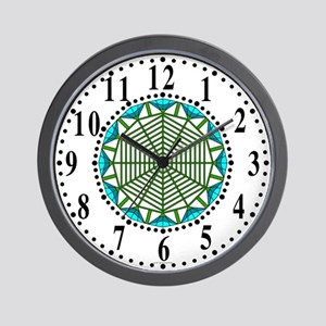 Eclectic Flower 381 Wall Clock