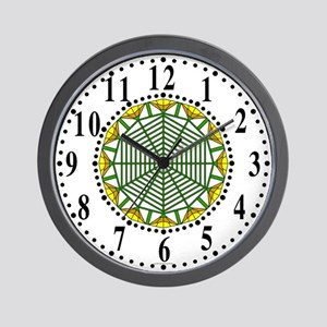 Eclectic Flower 390 Wall Clock