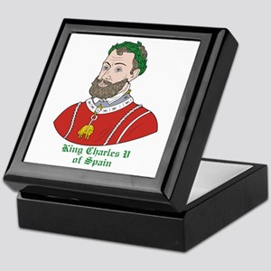 King Charles V of Spain Keepsake Box
