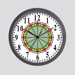 Eclectic Flower 410 Wall Clock