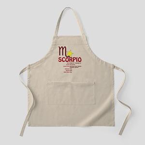 Scorpio Traits Apron