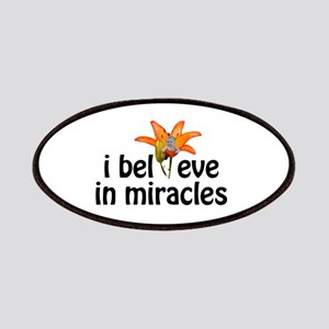 I believe in miracles Patches