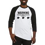 WARNING - Baseball Jersey
