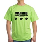 WARNING - Green T-Shirt
