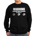 WARNING - Sweatshirt (dark)
