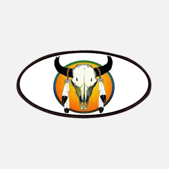 Buffalo Skull Patches