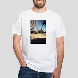 Poydras St. White T-Shirt