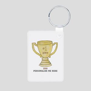 Personalized Trophy Aluminum Photo Keychain