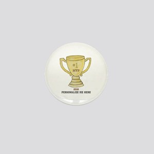 Personalized Trophy Mini Button