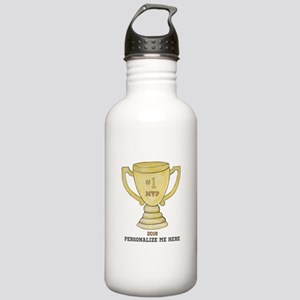 Personalized Trophy Stainless Water Bottle 1.0L