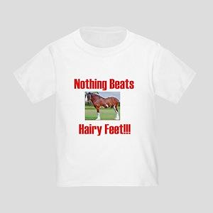 Heavy Horse Hairy Feet Toddler T-Shirt
