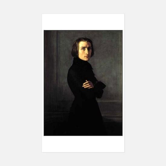 Liszt Sticker (Rectangle 10 pk)