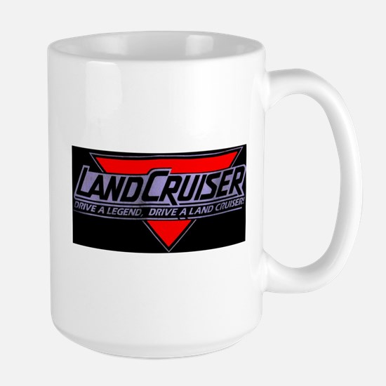 Ask me about my Land Cruiser Large Mug