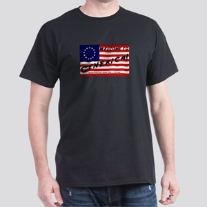 Generica USA Black T-Shirt