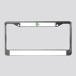 official Geek Cred License Plate Frame