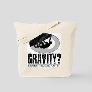 Gravity? Rock Climber Tote Bag