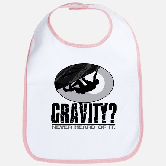 Gravity? Rock Climber Bib