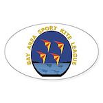 BASKL Oval Sticker