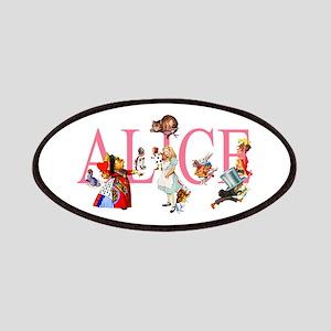 ALICE & FRIENDS IN WONDERLAND Patches