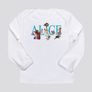 ALICE & FRIENDS IN WOND Long Sleeve Infant T-Shirt