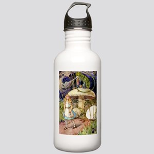 ALICE & THE CATERPILLAR Stainless Water Bottle 1.0
