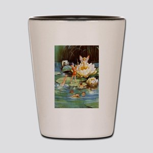 WATER LILY FAIRIES Shot Glass