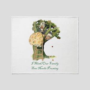 OUR FAMILY TREE Throw Blanket