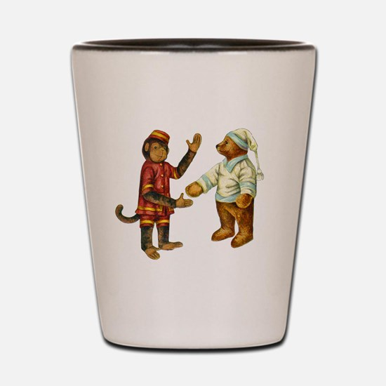 MONKEY & BEAR Shot Glass