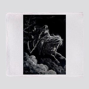 Death Angel Throw Blanket