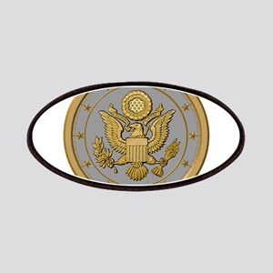 PATRIOT SILVER Patches