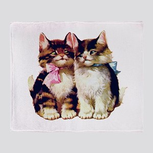 CATS MEOW Throw Blanket